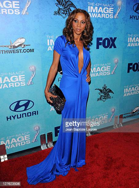 Holly Robinson Peete attends the 42nd Annual NAACP Image Awards Post-Show Gala Celebration at SLS Hotel on March 4, 2011 in Beverly Hills, California.