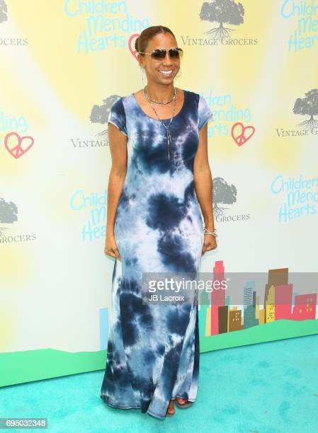 Holly Robinson Peete attends the Children Mending Hearts 9th Annual Empathy Rocks Fundraiser on June 11 2017 in Beverly Hills California