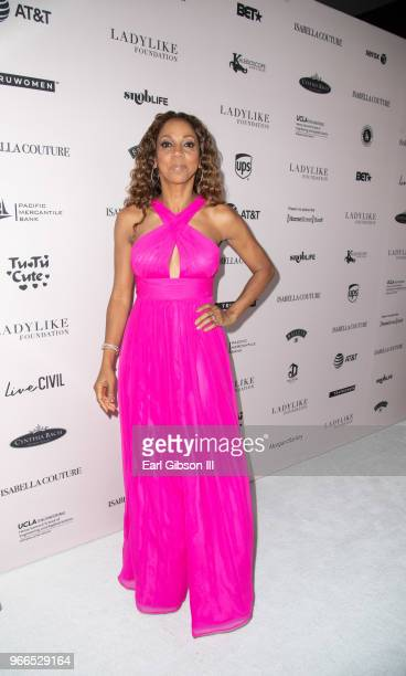 Holly Robinson Peete attends the Ladylike Foundation's 2018 Annual Women Of Excellence Scholarship Luncheon at The Beverly Hilton Hotel on June 2...
