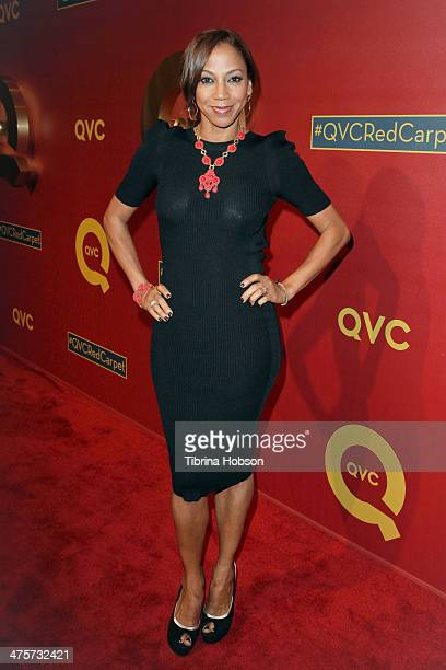 Holly Robinson Peete attends the QVC 5th annual red carpet style event at The Four Seasons Hotel on February 28 2014 in Beverly Hills California