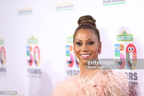 Holly Robinson Peete attends the Sesame Workshop's 50th Anniversary Benefit Gala at Cipriani Wall Street on May 29 2019 in New York City