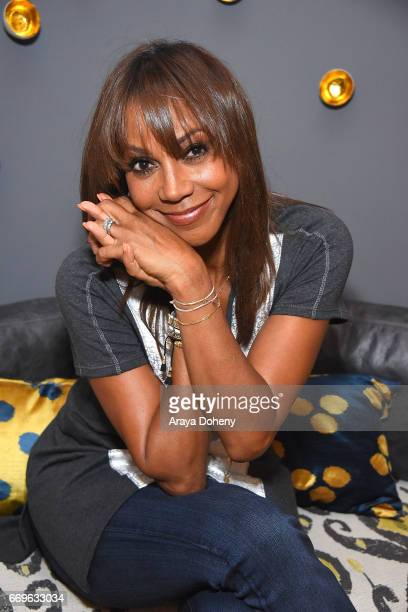 Holly Robinson Peete attends the Stella Dot trunk show to benefit the HollyRod Foundation on April 17 2017 in Encino California