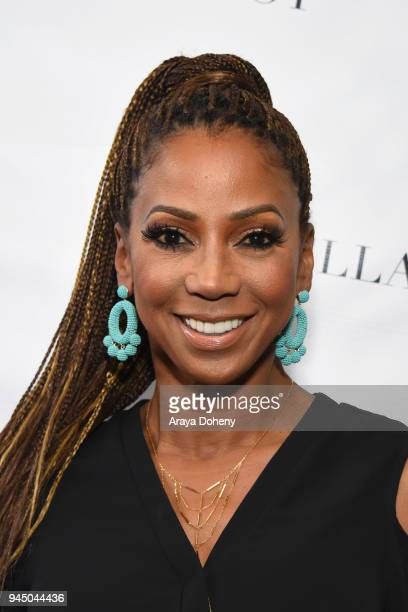 Holly Robinson Peete attends the Stella Dot x HollyRod Foundation Charity Trunk Show for Autism Awareness Month on April 11 2018 in Los Angeles...