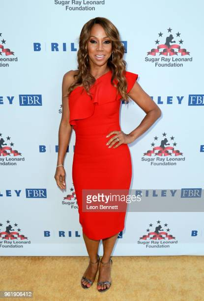 Holly Robinson Peete attends the Sugar Ray Leonard Foundation 9th Annual Big Fighters Big Cause Charity Boxing Night presented by B Riley FBR Inc at...