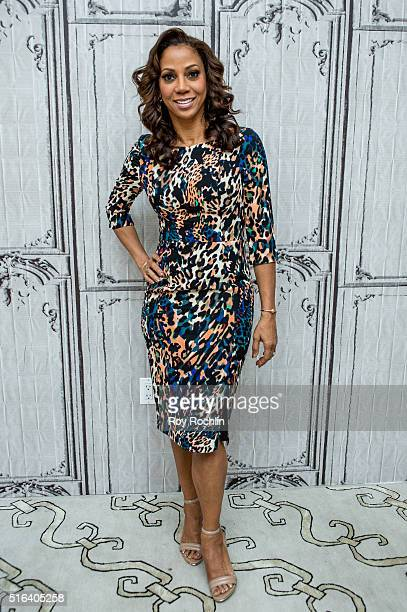 Holly Robinson Peete discusses 'For Peete's Sake' during AOL Build at AOL Studios In New York on March 18 2016 in New York City