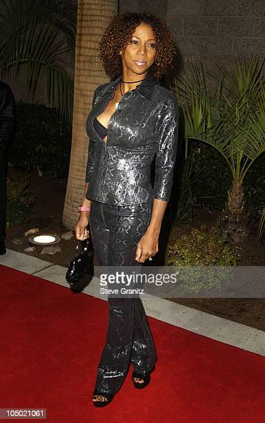 Holly Robinson Peete during 2002 Billboard Music Awards Arrivals at MGM Grand Arena in Las Vegas Nevada United States