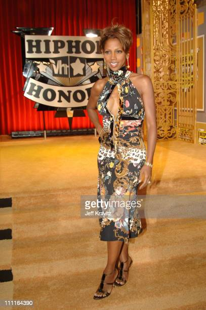 Holly Robinson Peete during 2005 VH1 Hip Hop Honors Gold Carpet at Hammerstein Ballroom in New York City New York United States