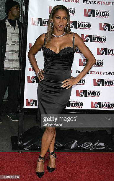 Holly Robinson Peete during 2005 Vibe Awards Arrivals at Sony Studios in Culver City California United States