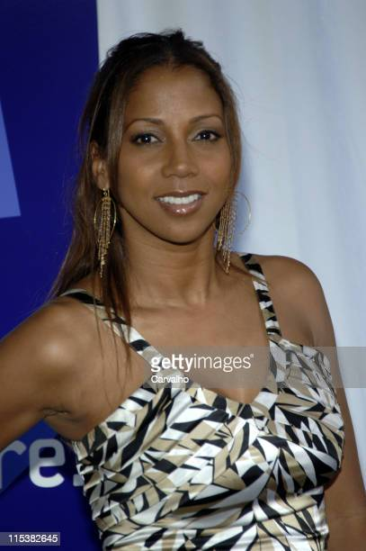 Holly Robinson Peete during 2005/2006 UPN Prime Time UpFront at Madison Square Garden in New York City New York United States