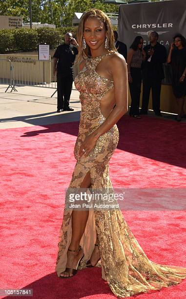 Holly Robinson Peete during 9th Annual Soul Train Lady of Soul Awards Arrivals at Pasadena Civic Center in Pasadena California United States