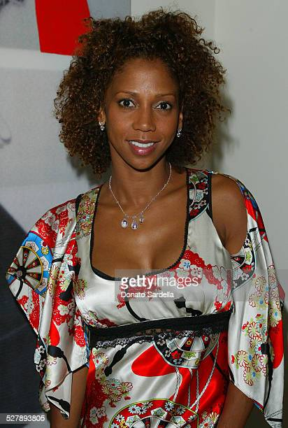 Holly Robinson Peete During Bradley Bayou Halston Fall  Collection La Launch At Saks Fifth