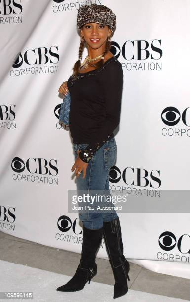 Holly Robinson Peete during CBS/Paramount/UPN/Showtime/King World 2006 TCA Winter Press Tour Party - Arrivals at The Wind Tunnel in Pasadena,...
