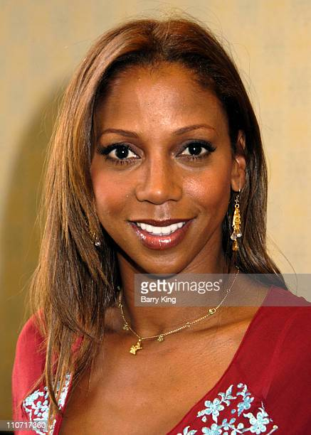 """Holly Robinson Peete during Holly Robinson Peete Signs Her Book """"Get Your Own Damn Beer, I'm Watching the Game!"""" at Barnes & Noble in Los Angeles -..."""