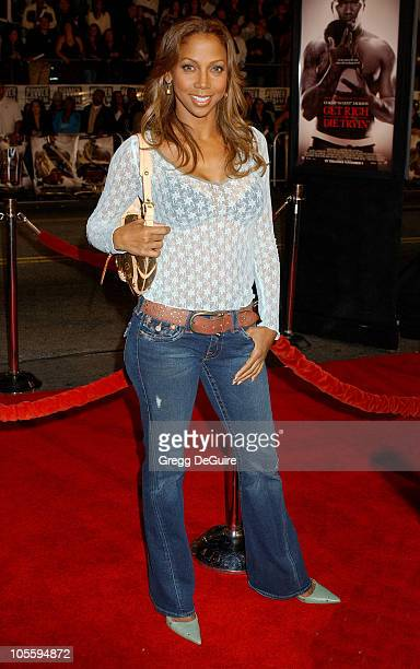 Holly Robinson Peete during Paramount Pictures' 'Get Rich or Die Tryin'' Los Angeles Premiere Arrivals at Grauman's Chinese Theatre in Hollywood...