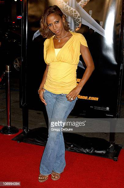 Holly Robinson Peete during 'Snakes on a Plane' Los Angeles Premiere Sponsored by Palm Arrivals at Grauman's Chinese Theatre in Hollywood California...