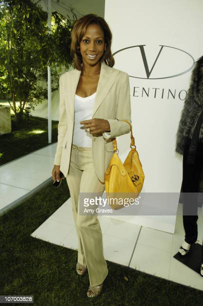 Holly Robinson Peete during Valentino and Lorraine Schwartz Fashion Show and Sale to Benefit the Intrepid Fallen Heroes Fund at Home of Irina and...