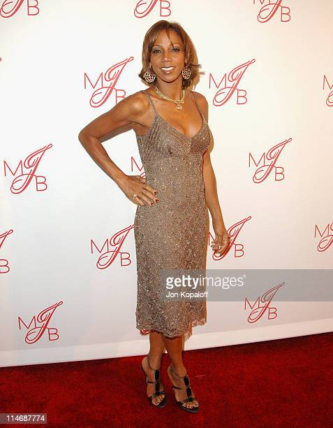 Holly Robinson Peete during Will Smith and Jada Pinkett Smith Host PreGrammy Party to Celebrate Grammy Nominee Mary J Blige Arrivals at Boulevard 3...