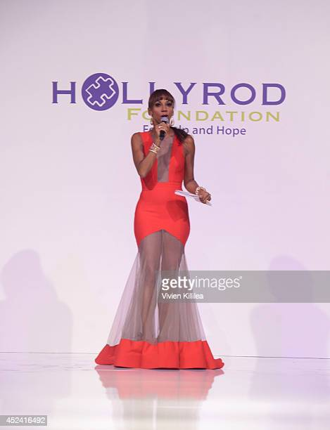 Holly Robinson Peete hosts the 16th Annual DesignCare To Benefit The HollyRod Foundation at The Lot Studios on July 19 2014 in Los Angeles California