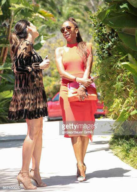 Holly Robinson Peete is seen on April 16 2018 in Los Angeles California