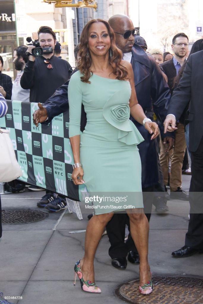 Celebrity Sightings In New York - February 21, 2018 : News Photo