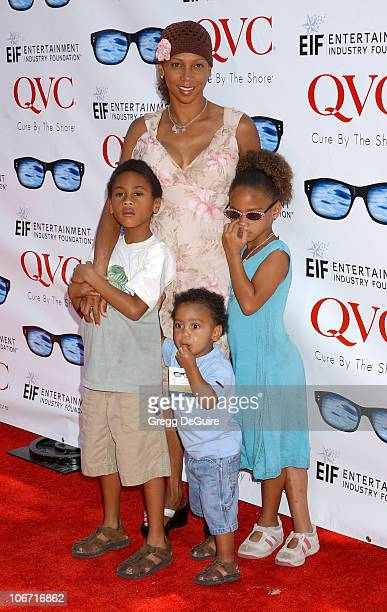 Holly Robinson Peete sons RJ and Robinson and daughter Ryan