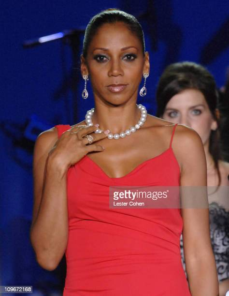 """Holly Robinson Peete wearing Tommy Hilfiger during 14th Annual Race to Erase MS Themed """"Dance to Erase MS"""" - Show at Hyatt Regency Century Plaza in..."""