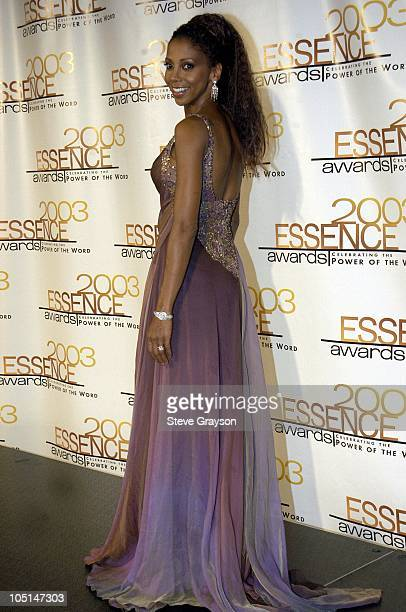 Holly RobinsonPeete during 2003 Essence Awards Press Room at Kodak Theatre in Hollywood California United States