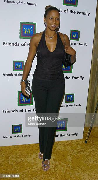 Holly RobinsonPeete during The 8th Annual Families Matter BenefitArrivals at The Regent Beverly Wilshire Hotel in Beverly Hills California United...