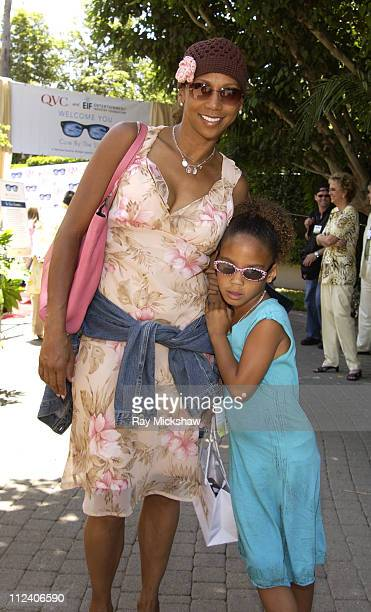 Holly RobinsonPeete wearing Burberry 9411s sunglasses