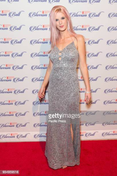 Holly Sanneman attends Endometriosis Foundation of America 9th Annual Blossom Ball at Cipriani 42nd street