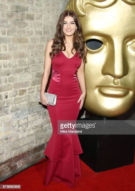 Holly Tandy attends the BAFTA Children's awards at The Roundhouse on November 26 2017 in London England