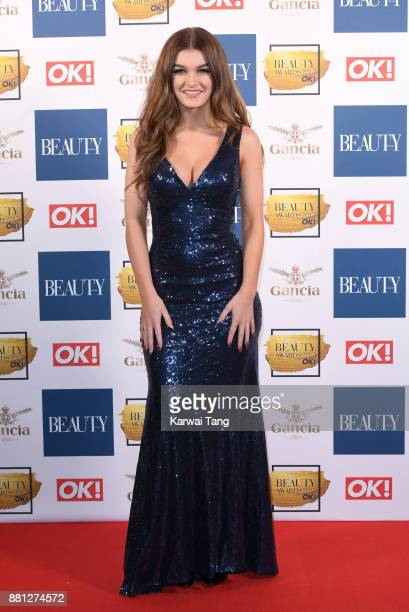 Holly Tandy attends The Beauty Awards at Tower of London on November 28 2017 in London England