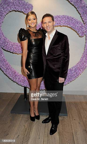 Holly Valance and Nick Candy attend a party celebrating the launch of luxury interior designer Candy Candy's new book 'Candy Candy The Art Of Design'...