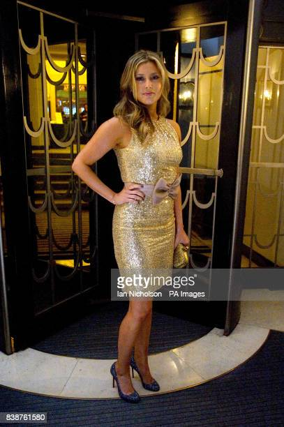 Holly Valance arrives for the Radio Times Covers Party at Claridges Hotel London