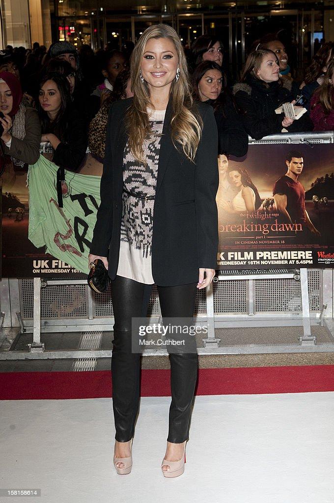 The Twilight Saga: Breaking Dawn: Part One Uk Premiere - London : News Photo