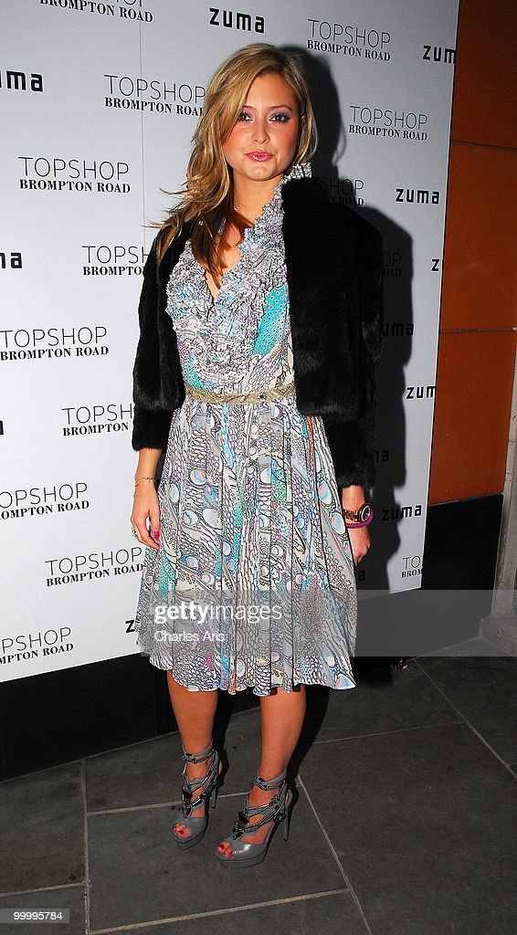 Holly Valance attends a private dinner at Zuma restaurant hosted by Phillip Green to celebrate opening of TopShop's Knightsbridge store on May 19, 2010 in London, United Kingdom.
