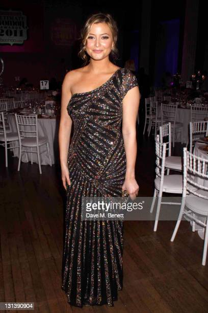 Holly Valance attends an after party following the Cosmopolitan Ultimate Women Of The Year Awards 2011 at the Banqueting House on November 3 2011 in...