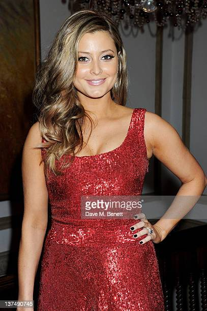 Holly Valance attends Candy Candy CEO Nick Candy's 39th birthday party in association with Ciroc Vodka at No 5 Cavendish Square on January 21 2012 in...