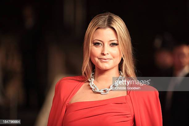 Holly Valance attends the Royal World Premiere of 'Skyfall' at Royal Albert Hall on October 23 2012 in London England