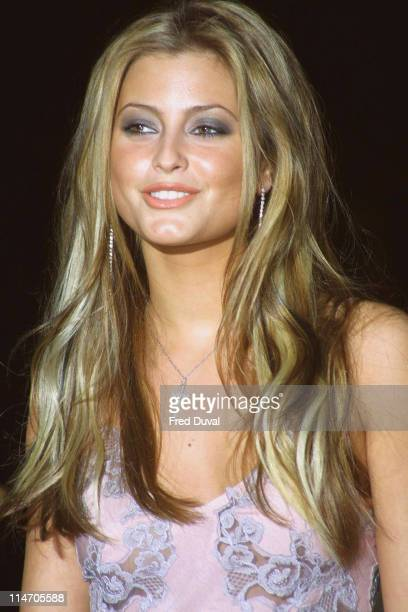 Holly Valance during 2002 GQ Men of the Year Awards London at Natural History Museum in London Great Britain