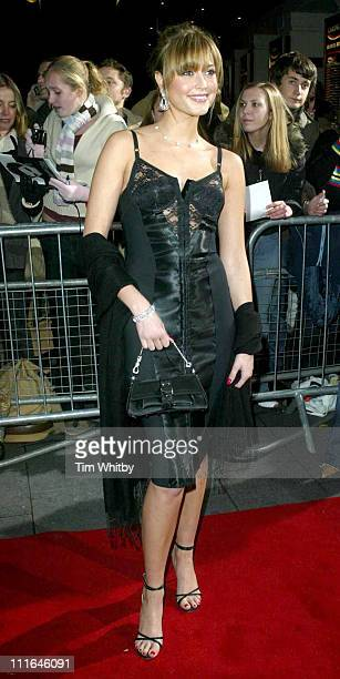 Holly Valance during 2003 National Music Awards at Hammersmith Apollo in London Great Britain