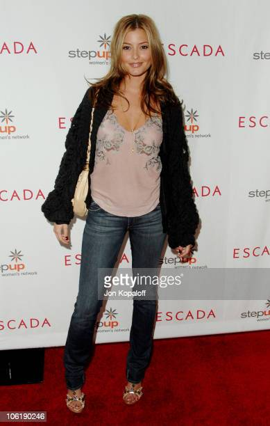 Holly Valance during Escada And Jessica Alba Toast Step Up Women's Network April 19 2007 at Beverly Wilshire Hotel in Beverly Hills California United...