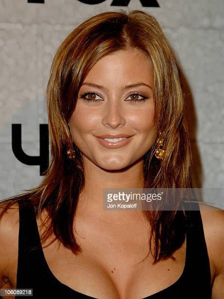 Holly Valance during 'Prison Break' End of Season Screening Party at Fox Lot in Los Angeles California United States