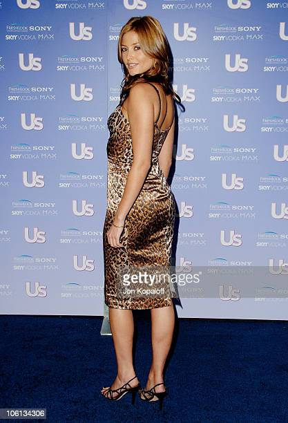 Holly Valance during US Weekly's Hot Hollywood 'Fresh 15' Arrivals at Area in Los Angeles California United States
