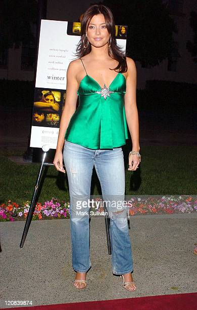 Holly Valance during 'Winter Solstice' Los Angeles Premiere in Los Angeles California United States