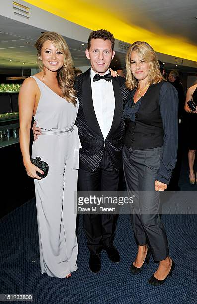 Holly Valance Nick Candy and Tracey Emin arrive at the GQ Men Of The Year Awards 2012 at The Royal Opera House on September 4 2012 in London England