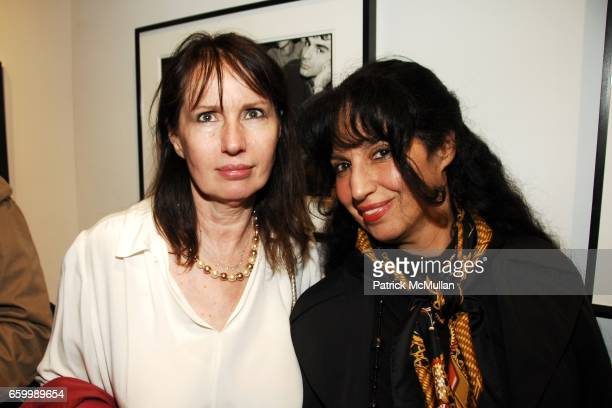 Holly Weinstein and Linda Tepper attend MINA GALLERY Hosts SAM BASSETT and BOBBY GROSSMAN at Mina Gallery on May 14 2009 in New York City