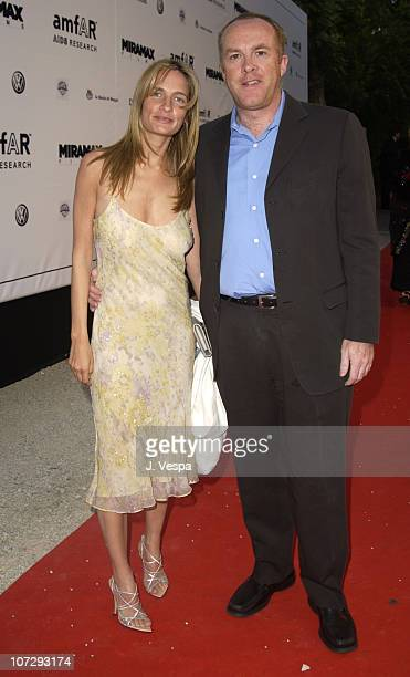 Holly Wiersma and Cassian Elwes during 2003 Cannes Film Festival - Cinema Against Aids 2003 to benefit amfAR sponsored by Miramax - Arrivals at Le...