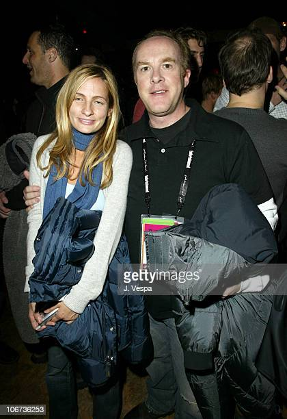 Holly Wiersma and Cassian Elwes during 2004 Sundance Film Festival - DETAILS + Sean John for William Morris Independent Party at The Shop in Park...