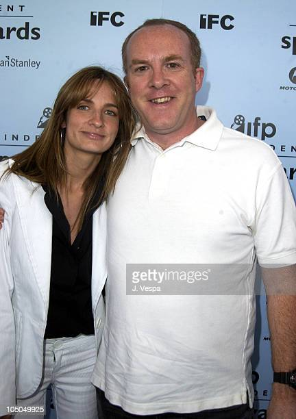 Holly Wiersma and Cassian Elwes during The 18th Annual IFP Independent Spirit Awards - Arrivals at Santa Monica Beach in Santa Monica, California,...